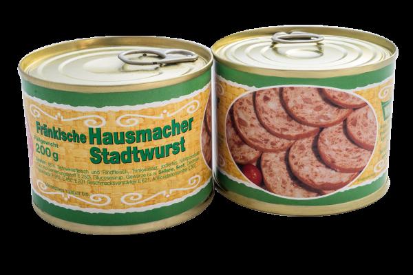 Fränkische Hausmacher Stadtwurst 200g