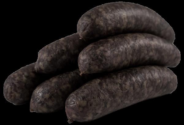 schwarzgeräucherte Bratwurst